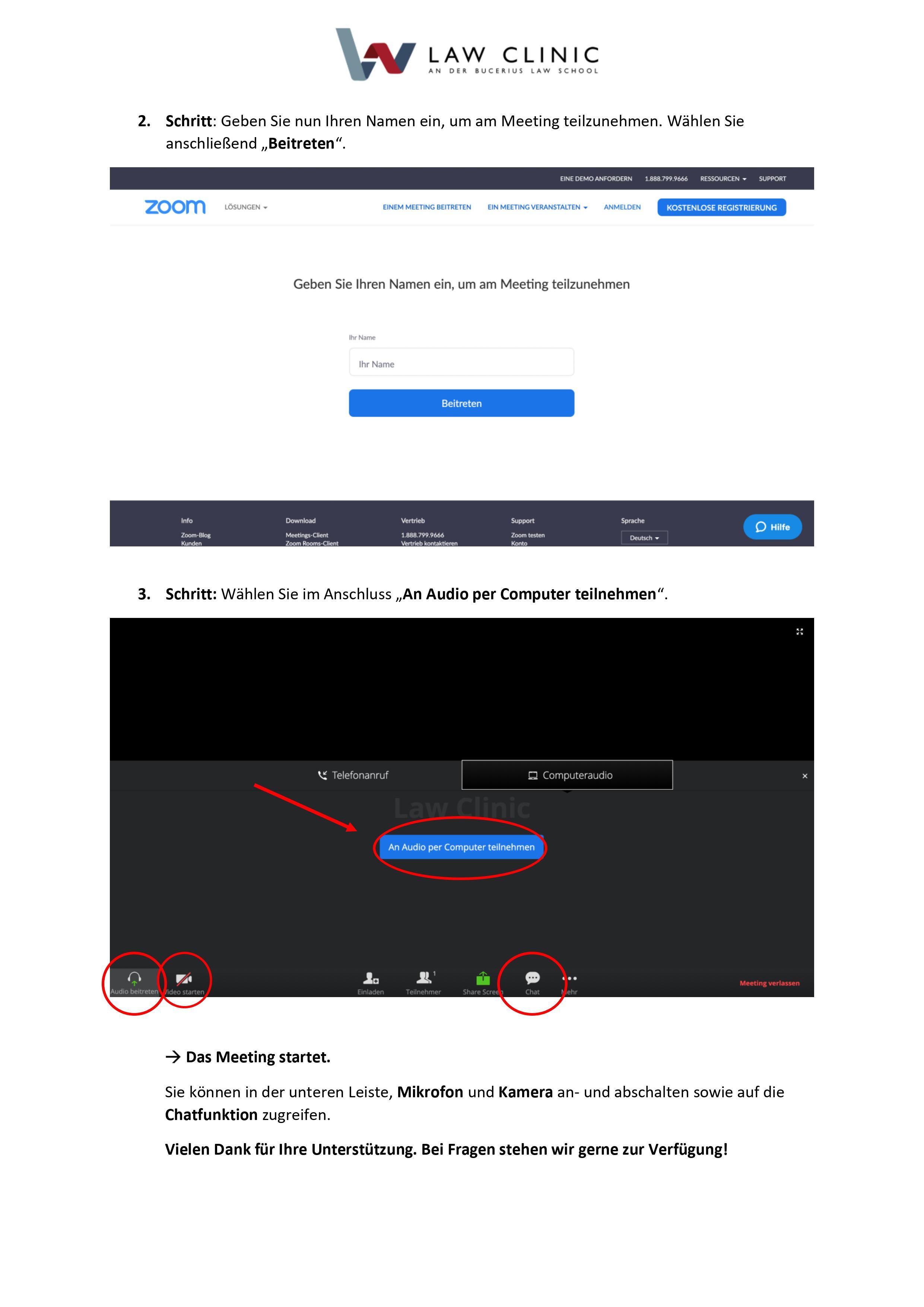 Zoom Instruction 2